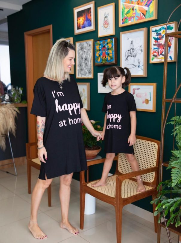 T-shirt – I'm Happy At Home